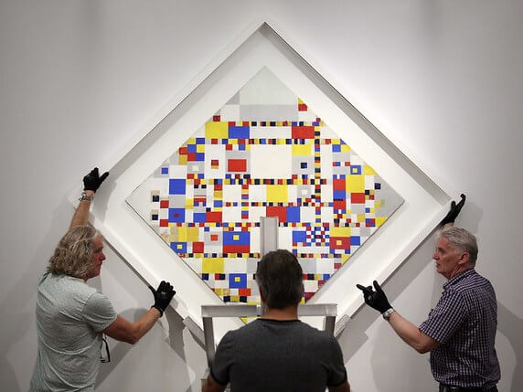 Photo of Victory Boogie-Woogie by Piet Mondrian